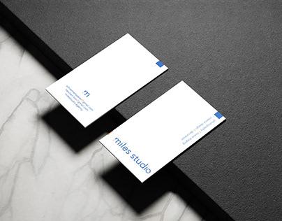 Design Logo Miles Studio
