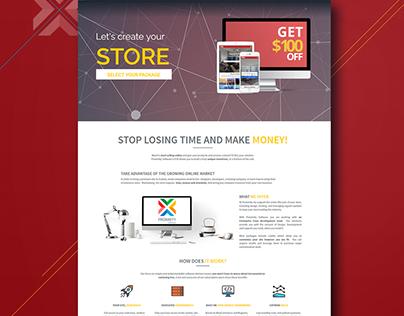 Proximity Software ECN Landing Page