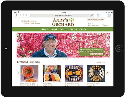Andy's Orchard Website