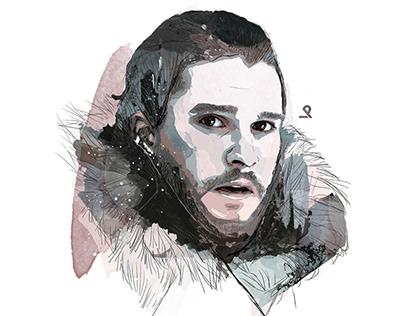Jon Snow - Illustration
