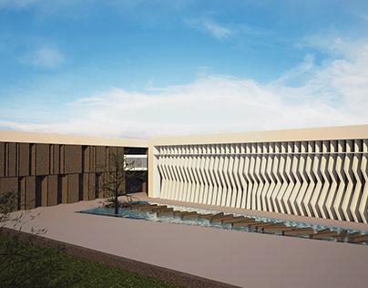 ALAMEIN UNIVERSITY (Master plan + FOE Building)