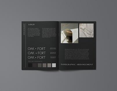 OAK + FORT Branding Guide