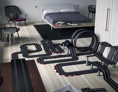 ENJOY - Racing car track