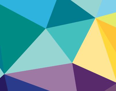 Geometric Pattern - Business cards