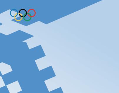 SARAJEVO Olympic Poster