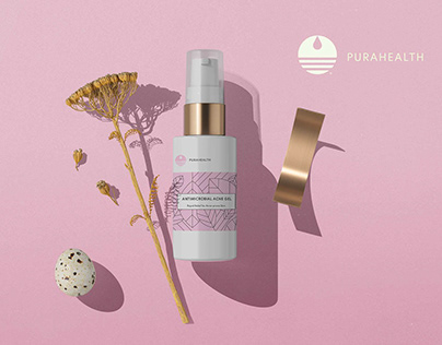 Pura Health- Label and Packaging Design