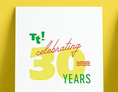 Tacotote 30th Anniversary