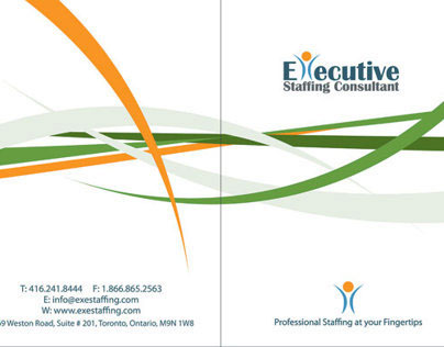 Presentation Folder - Executive Staffing Consultant