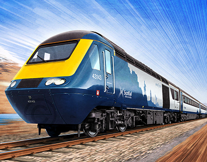 ScotRail 'Inter7City' High Speed Train