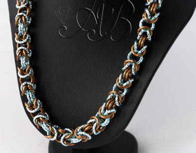 Chainmail Necklace - Byzantine