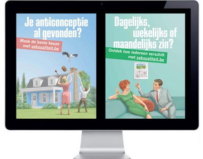 Online campagne seksualiteit.be