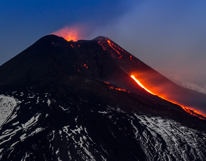 Etna, vulcano