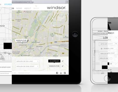 windsor. RWD