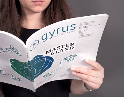 Gyrus Journal Layout and Visual Identity