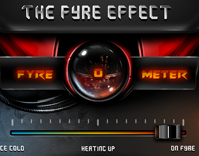 Fyre-o-meter for Fruityloops Studio