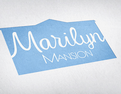 Marilyn Mansion Guesthouse Branding