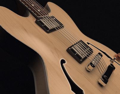 Gibson ES335 Solidworks Model