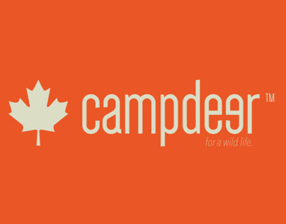 """Camp deer adv poster""""personal project"""""""