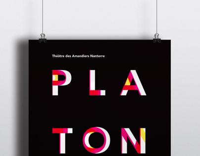 Affiche Suisse Platonov.
