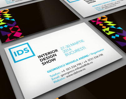 Interior Design Show - Business Card