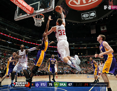 Concept for Basketball TV-graphics