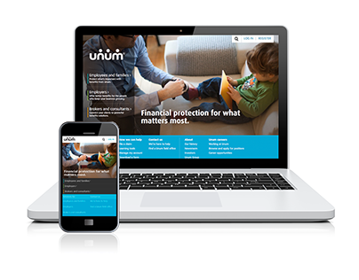Unum website