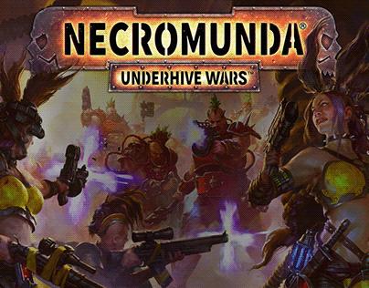 Necromunda: Underhive Wars UX/UI