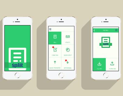 Split the Bill   Mobile App