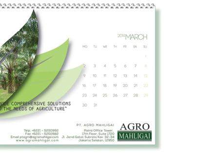 Agro Mahligai Calendar