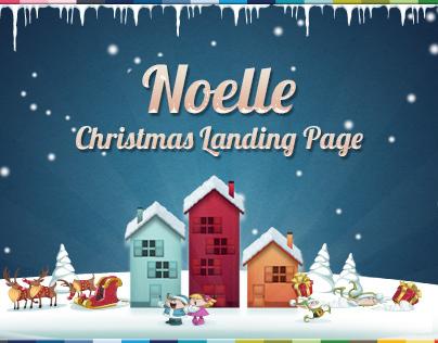 Noelle - Christmas Landing Page