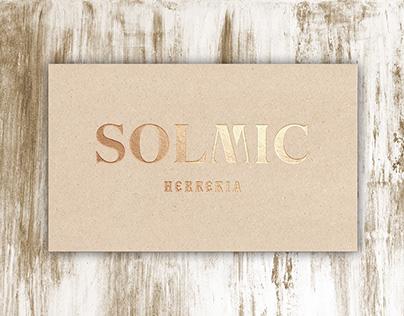 SOLMIC. Logo design & Branding.