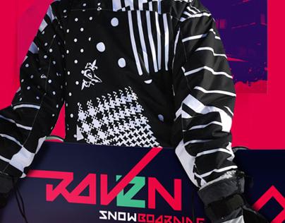 Raven Snowboard Deck