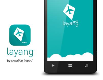 layang - flight booking app