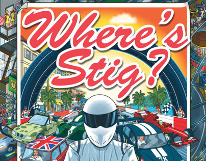 Top Gear Where's Stig? Motorsport Madness Book