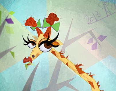 GiGi The Giraffe :)