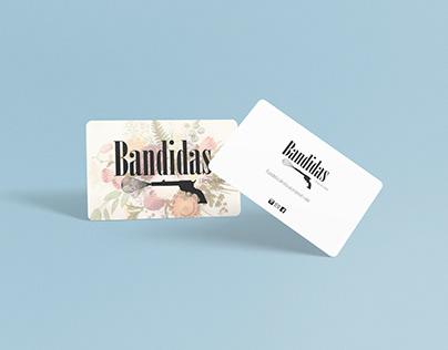 Bandidas Logo design