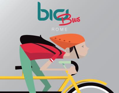 BiciBus Rome Logo proposal