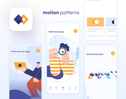 Motion Design app - motion patterns