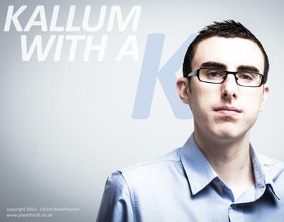 My latest portrait shoot: Kallum Russell, Entrepreneur.