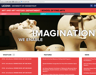 School of Fine Arts Website