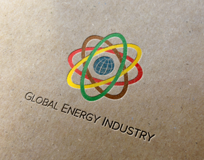 Global Energy Industry Logo and Branding