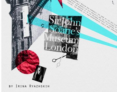 Sir John Soane's Museum London booklet