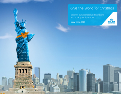 KLM X-mas Promo