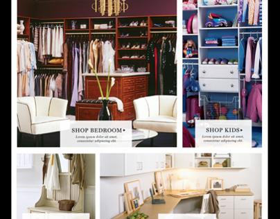 California Closets + Rue La La Presentation Asset