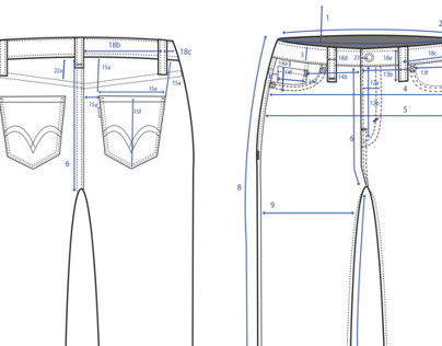 Jeans: Technical and Spec Flats