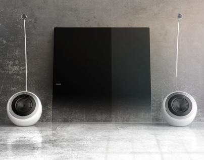 Soundsphere DesignLine speakers | PHILIPS