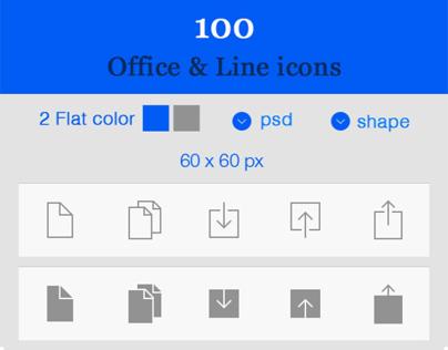 ios7 Style line icons