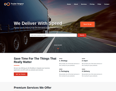 Trucker Hangout - Mockup
