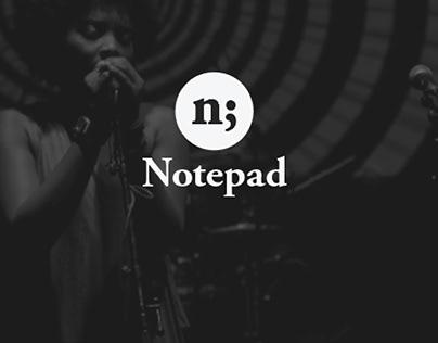 Notepad Poetry | Brand Identity Design