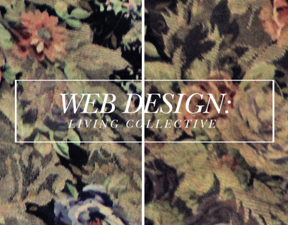 Web Design : Living Collective Lifestyle